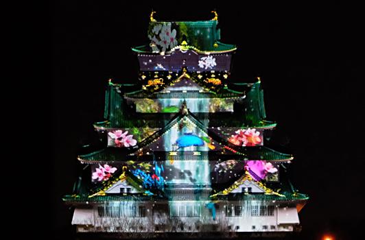 大阪城イルミネーションのチケットは?混雑する?駐車場はある?