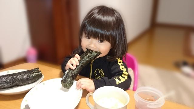 恵方巻き子供が簡単に食べるには?具材は?レシピは?