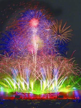 横浜開港祭の花火を見る場所は?時間は?チケットは?