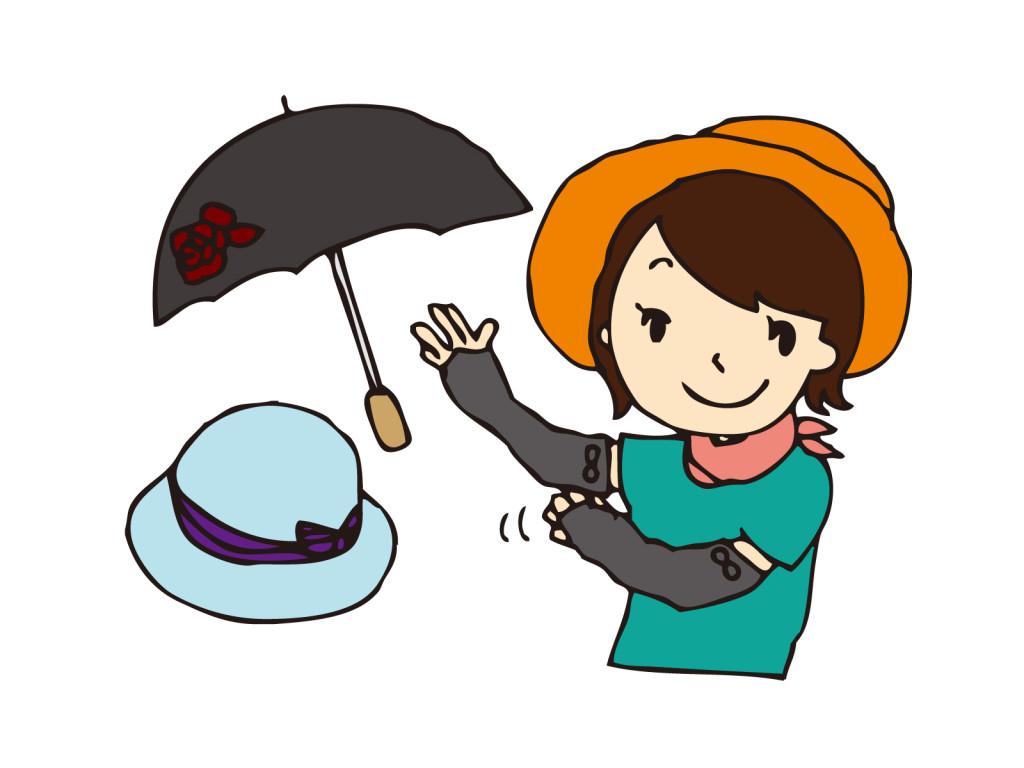 紫外線対策グッズのおすすめは?定番の日傘以外にも必須なグッズとは?