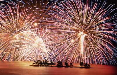松江水郷際2015年の花火スポットや宿泊場所は?駐車場は?