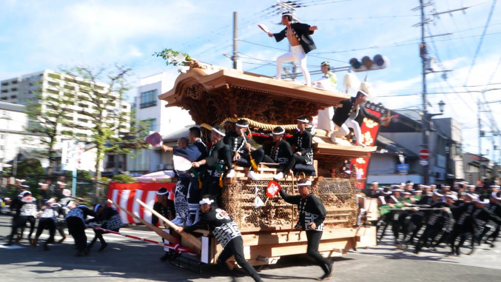 岸和田だんじり祭り2015年の予定は?見どころや観覧席は?