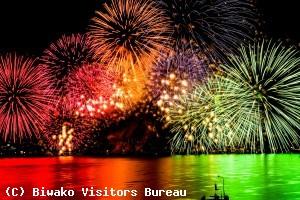 琵琶湖花火大会の見える場所は?ホテルからは?有料観覧席はある?