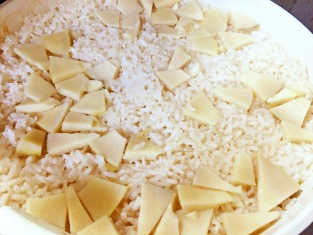 タケノコご飯のレシピで人気があるのは?簡単なのは?圧力鍋を使ったものは?